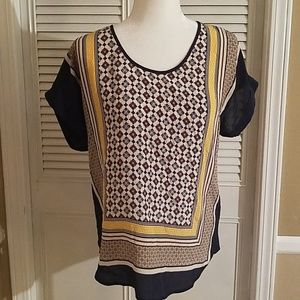 Lucky brand blouse size medium